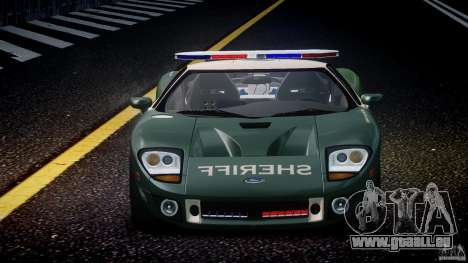 Ford GT1000 Hennessey Police 2006 [EPM][ELS] pour GTA 4 Salon