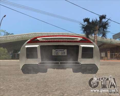 Saleen S5S Raptor pour GTA San Andreas sur la vue arrière gauche