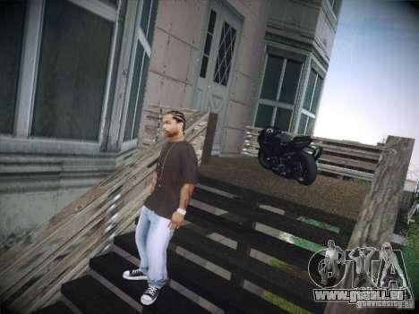 Aprilia RSV4 pour GTA San Andreas laissé vue
