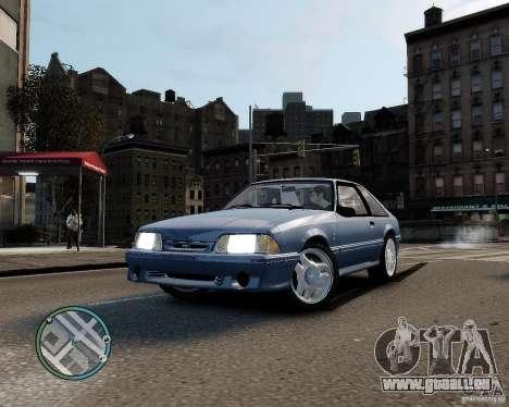 Ford Mustang SVT Cobra R 1993 für GTA 4