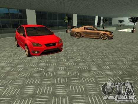 Auto Show Ford pour GTA San Andreas cinquième écran