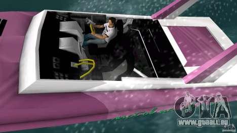 Squalo 2.0 Beta pour une vue GTA Vice City de la gauche