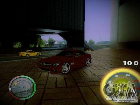 Compteur de vitesse par Centrale pour GTA San Andreas troisième écran