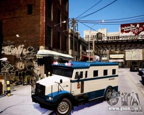 Russian Police Stockade für GTA 4