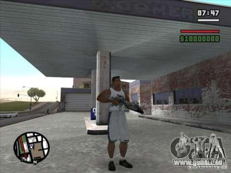 M4 von S. t. A. l. k. e. r. (a) für GTA San Andreas zweiten Screenshot