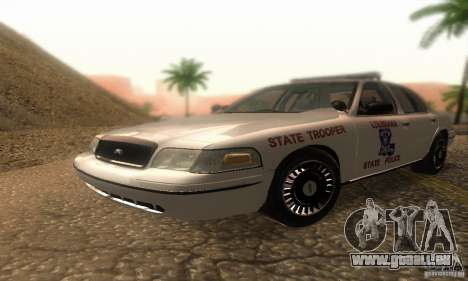 Ford Crown Victoria Louisiana Police für GTA San Andreas