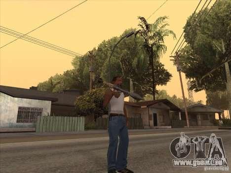 Nouveau Pack d'armes domestiques pour GTA San Andreas huitième écran