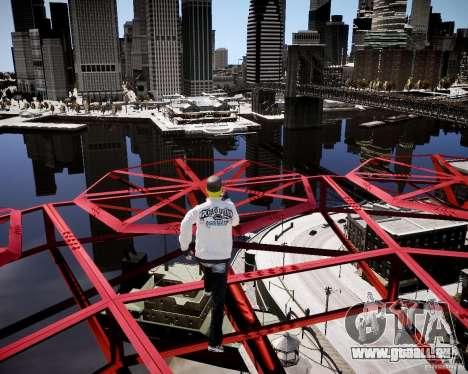 Niko The Mask für GTA 4 achten Screenshot