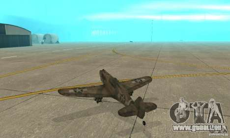 P-35 pour GTA San Andreas vue de droite