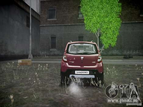 Dacia Sandero Stepway pour GTA 4 est un droit