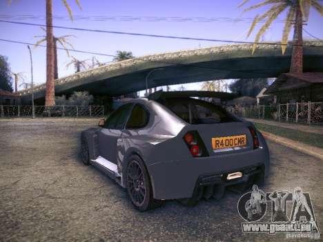 Colin McRae R4 für GTA San Andreas linke Ansicht