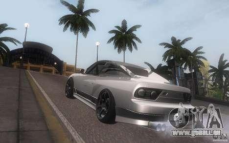 Nissan 180sx v2 pour GTA San Andreas vue de droite