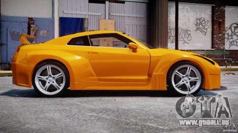 Nissan Skyline R35 GTR für GTA 4 Rückansicht