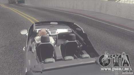 Citroen DS3 Convertible für GTA San Andreas zurück linke Ansicht