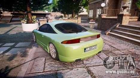 Mitsubishi Eclipse pour GTA 4 Vue arrière de la gauche