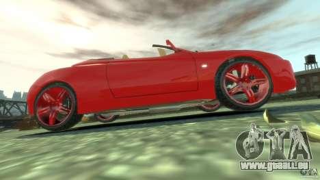 Alfa Romeo GTV Spider pour GTA 4 vue de dessus