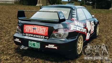 Subaru Impreza WRX STI N12 für GTA 4 hinten links Ansicht