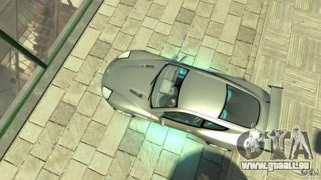 Aston Martin Vanquish S v2. 0 ohne Muskelaufbau für GTA 4 rechte Ansicht