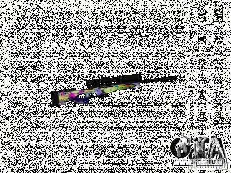 Sniper Grafite pour GTA San Andreas deuxième écran