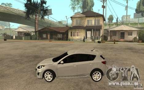 Mazda 3 Mazdaspeed 2010 für GTA San Andreas linke Ansicht
