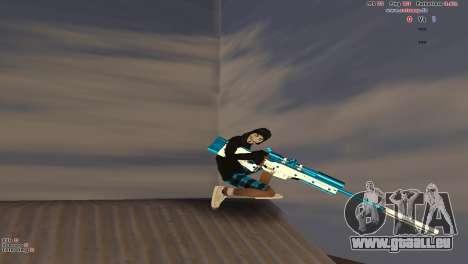 Sniper Rifle pour GTA San Andreas quatrième écran