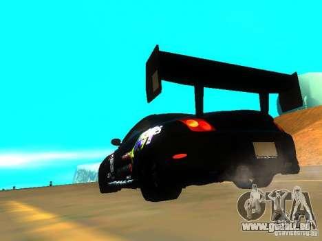 Lexus SC430 Daigo Saito v2 pour GTA San Andreas sur la vue arrière gauche