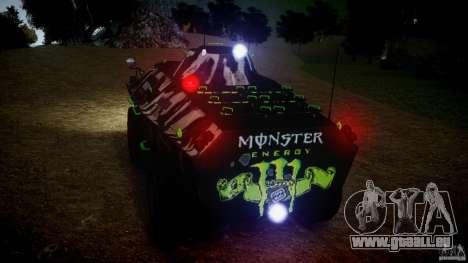 Monster APC pour GTA 4 Vue arrière