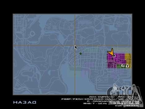 TBOGT HUD pour GTA San Andreas quatrième écran