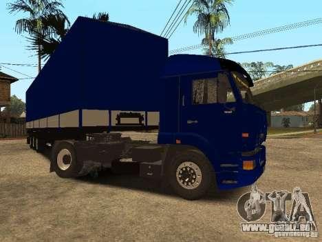 KAMAZ 5460 Truckers 2 pour GTA San Andreas laissé vue