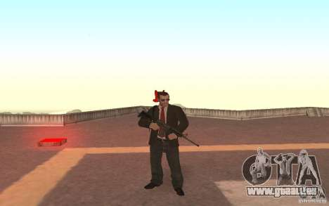 Unique animation of GTA IV V3.0 für GTA San Andreas her Screenshot