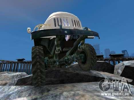 ZIL 131 für GTA 4 Räder