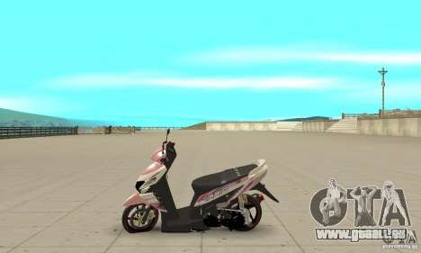 Honda Vario-Velg Racing pour GTA San Andreas laissé vue