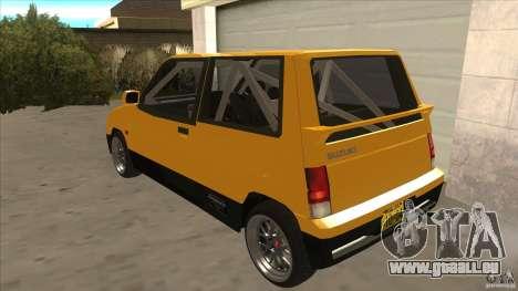 Suzuki Alto Euro pour GTA San Andreas sur la vue arrière gauche