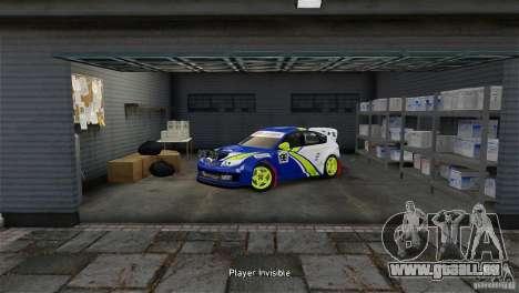 Subaru Impreza WRX STI Rallycross BFGoodric pour GTA 4