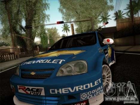Chevrolet Lacetti WTCC v2 pour GTA San Andreas