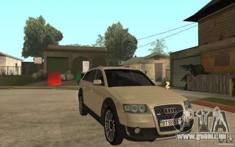 Audi Allroad Quattro pour GTA San Andreas vue arrière