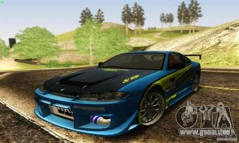 Nissan Silvia S15 pour GTA San Andreas salon