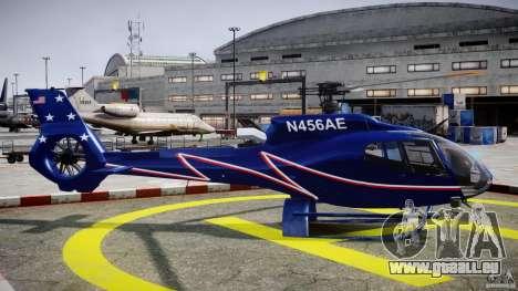Eurocopter EC130B4 NYC HeliTours REAL für GTA 4 Innenansicht