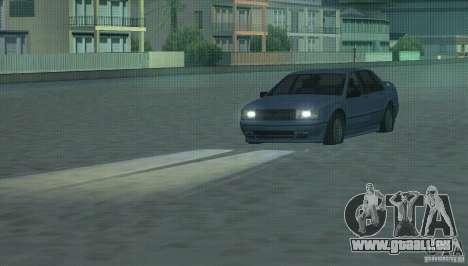 Phares à halogène pour GTA San Andreas deuxième écran