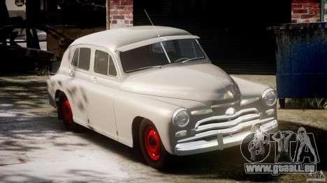 GAS M20V gewinnen amerikanische 1955 v1. 0 für GTA 4 Innenansicht
