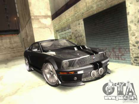 Ford Mustang Eleanor Prototype pour GTA San Andreas