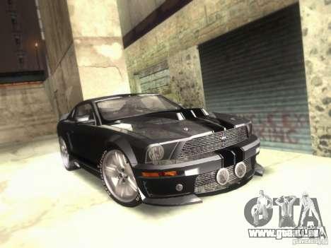 Ford Mustang Eleanor Prototype für GTA San Andreas
