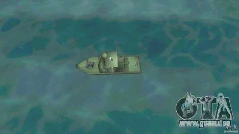Patrol Boat River Mark 2 (Player_At_Wheel) pour une vue GTA Vice City de la droite