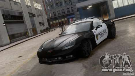 Chevrolet Corvette LCPD Pursuit Unit pour GTA 4