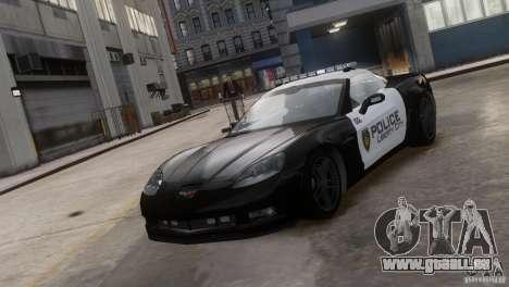 Chevrolet Corvette LCPD Pursuit Unit für GTA 4