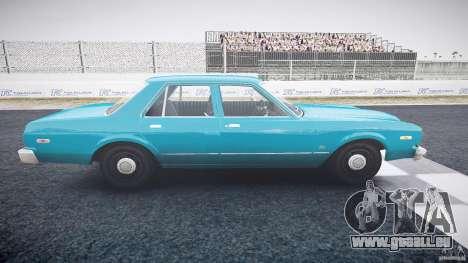 Dodge Aspen v1.1 1979 yellow rear turn signals pour GTA 4 est une vue de l'intérieur