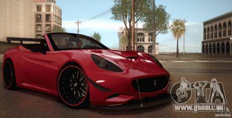 Ferrari California pour GTA San Andreas salon