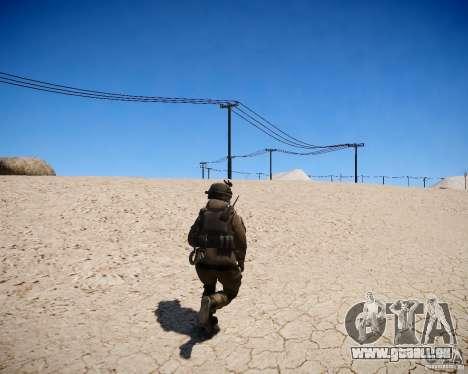 MW2 Phoenix Paratroopers pour GTA 4 troisième écran