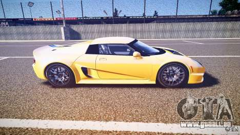 Rossion Q1 2010 v1.0 für GTA 4 Seitenansicht