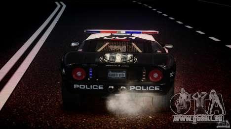 Ford GT1000 Hennessey Police 2006 [EPM][ELS] pour le moteur de GTA 4